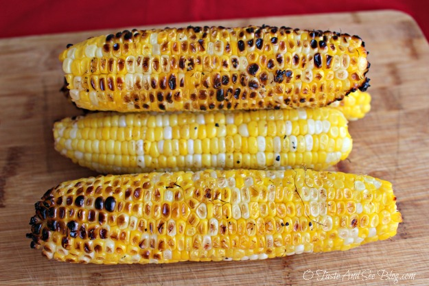 grilled corn on the cob 045