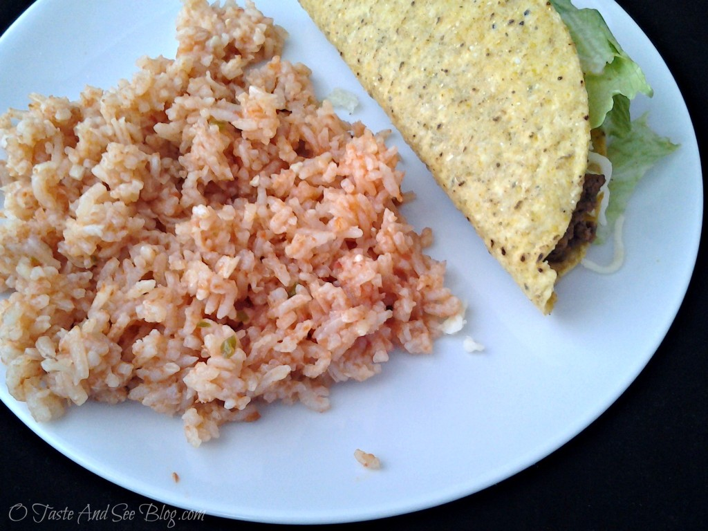 Taste and See Authentic Mexican Rice - O Taste and See