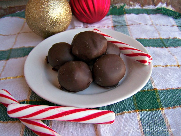 chocolate mint cake balls 094