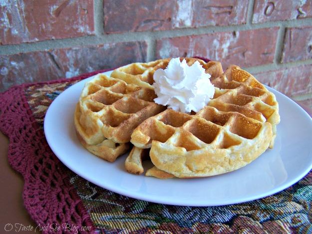Taste and See Easy Belgian Waffles » O Taste and See