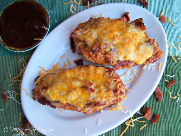 Bacon Cheese BBQ Chicken \u2013 O Taste and See