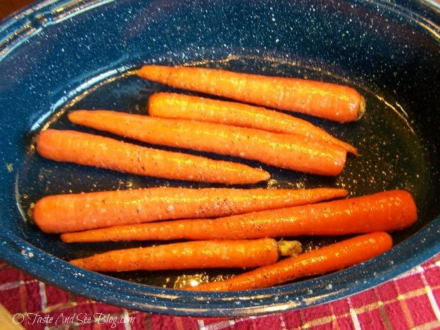 honey roasted carrots 006