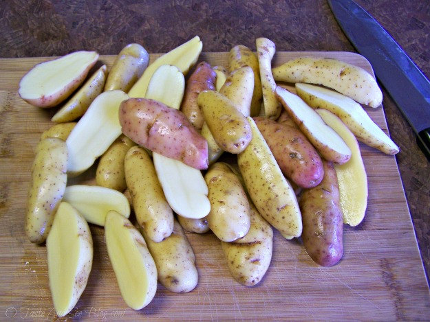 Asiago Garlic Finger Potatoes 004