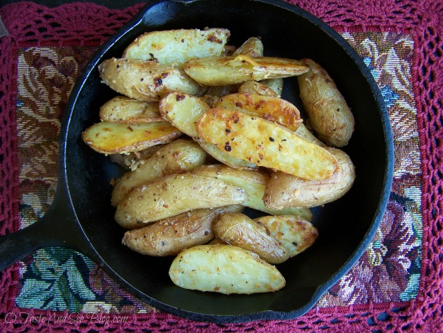 Asiago Garlic Finger Potatoes 042