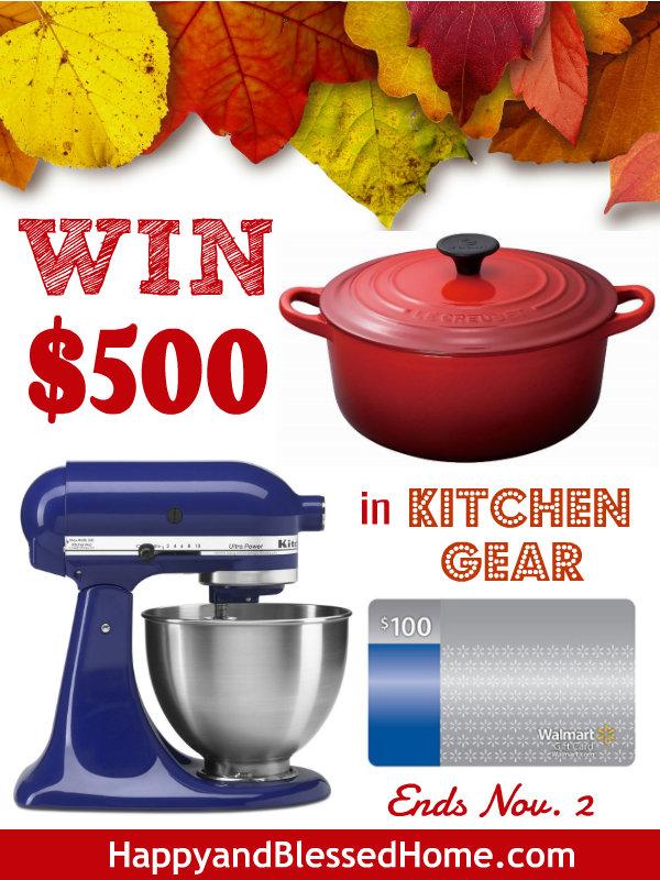 WIN-500-in-Kitchen-Gear-HappyandBlessedHome.com_