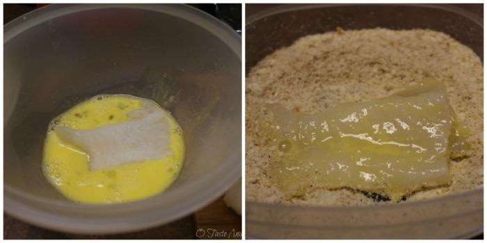 parmesan crusted fish #WildAlaskaSeafood #sp
