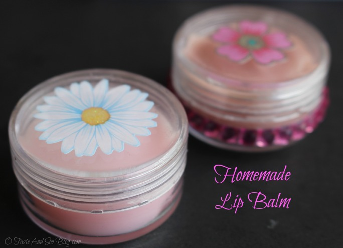 Homemade Lip Balm