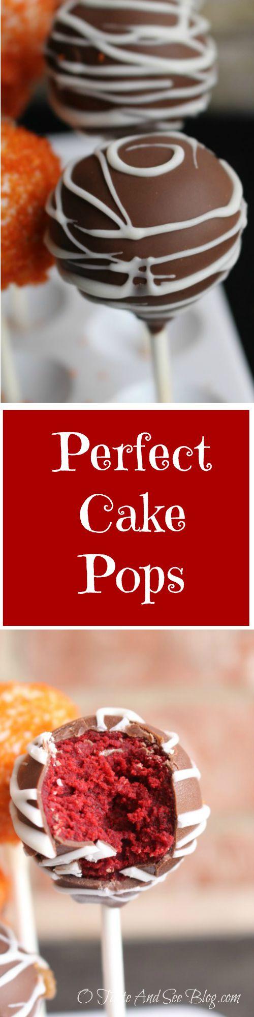 Perfect Cake Pops