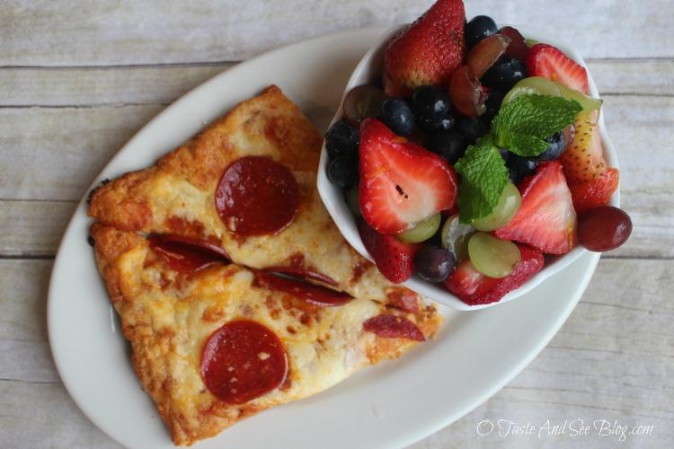 Orange Vanilla Glazed Fruit Salad #RealTasteForRealLife #ad
